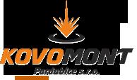 Logo společnosti KOVOMONT Pardubice, s.r.o.